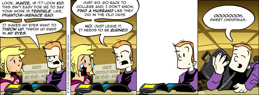 1PT.Rule Comic: Epic Portfolio (Part 1)