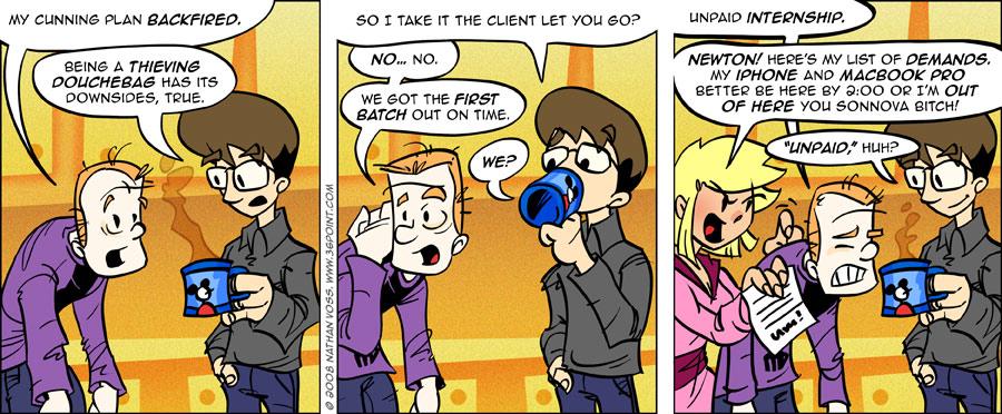 1PT.Rule Comic: Epic Portfolio (Part 3)