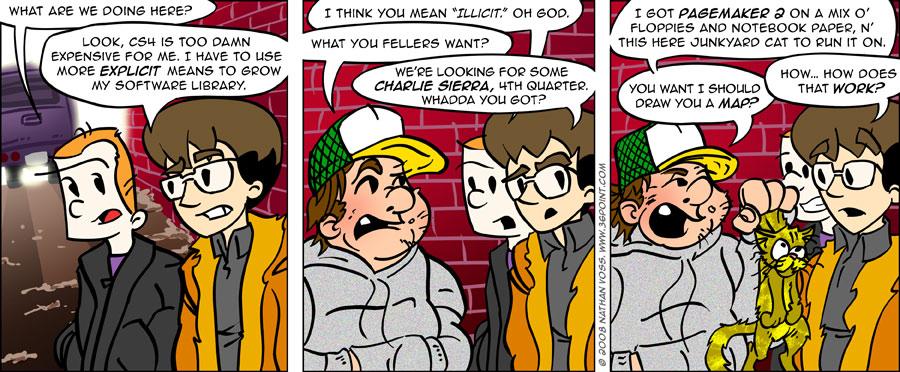 1PT.Rule Comic: Charlie Sierra