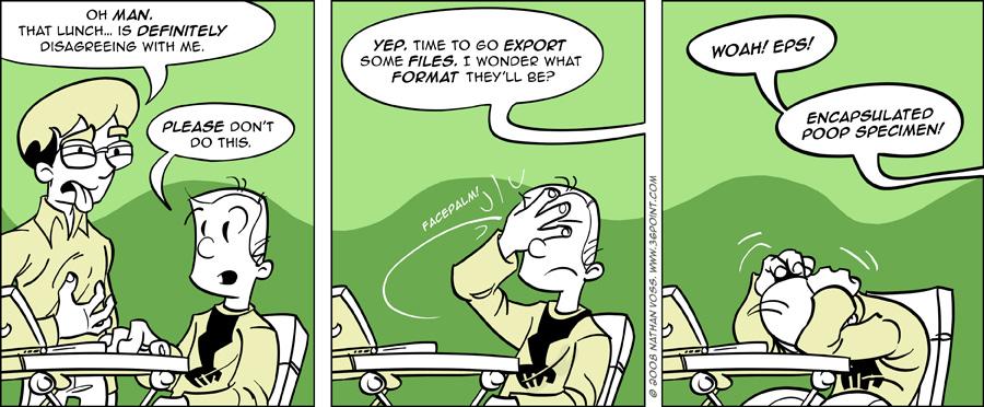 1PT.Rule Comic: Proper Formatting