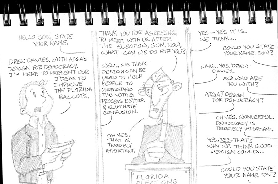1PT.Rule Chicago Sketchbook: In the Face of Such Brilliance