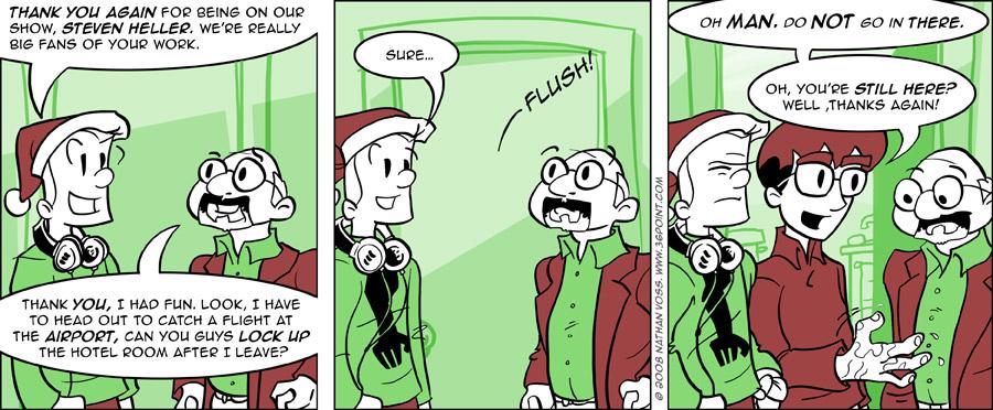 1PT.Rule Comic: Exchanging Niceties