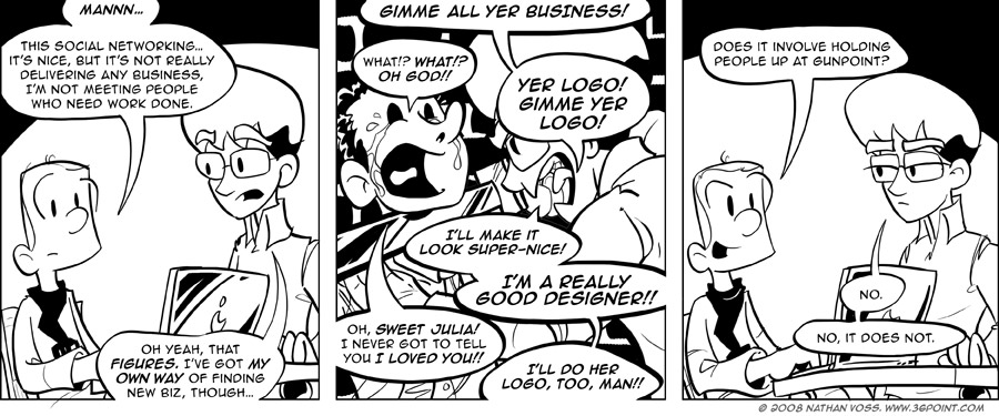 1PT.Rule Comic: How to Find Clients, Lesson 26