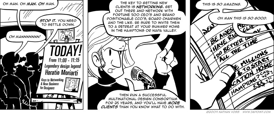 1PT.Rule Comic: Free Advice From the Superfamous