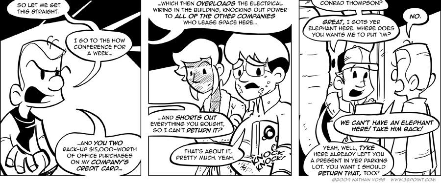 1PT.Rule Comic: Welcome Back!
