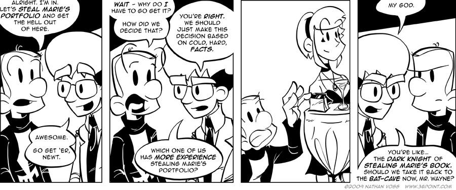 1PT.Rule Comic: The Way of the Ninja