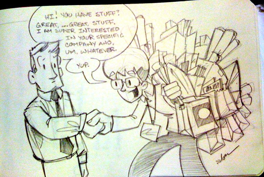 1PT.Rule HOW Sketchbook (page one)