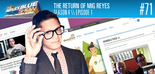 The Return of Mig Reyes to The Reflex Blue Show