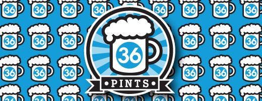 36 Pints