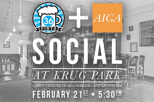 36 Pints + AIGA Social