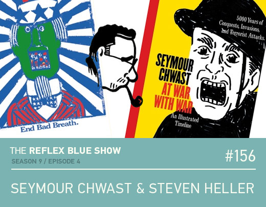 Seymour Chwast and Steven Heller Podcast Interview
