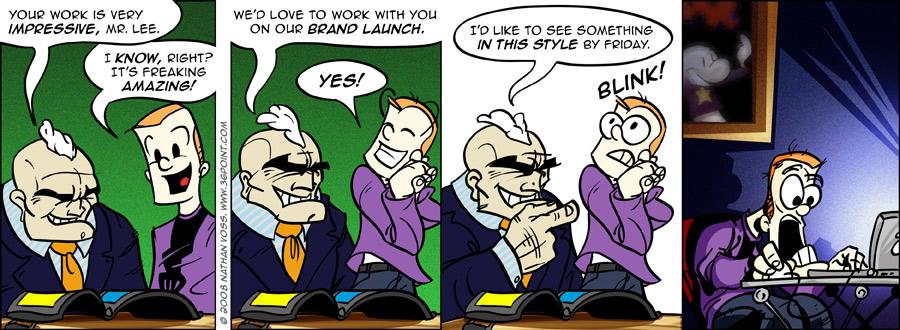 1PT.Rule Comic: Epic Portfolio (Part 2)