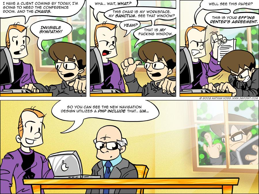 1PT.Rule Comic: Office Dynamics