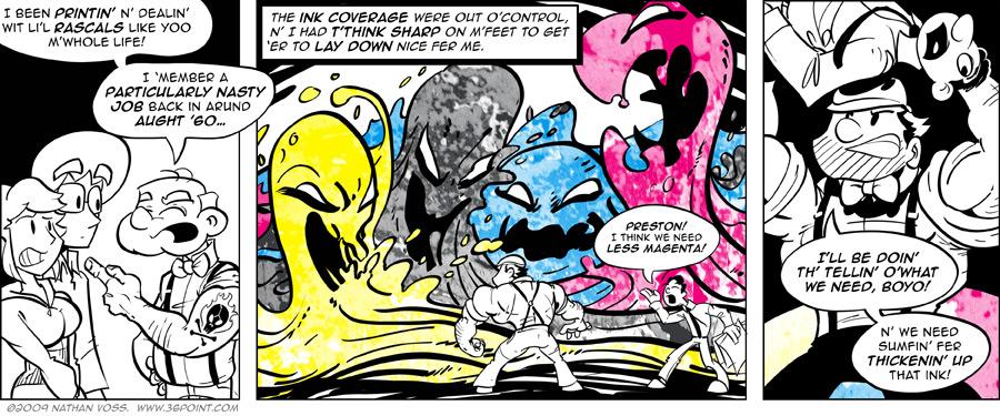 1PT.Rule Comic: A Glimpse Through the Loupe