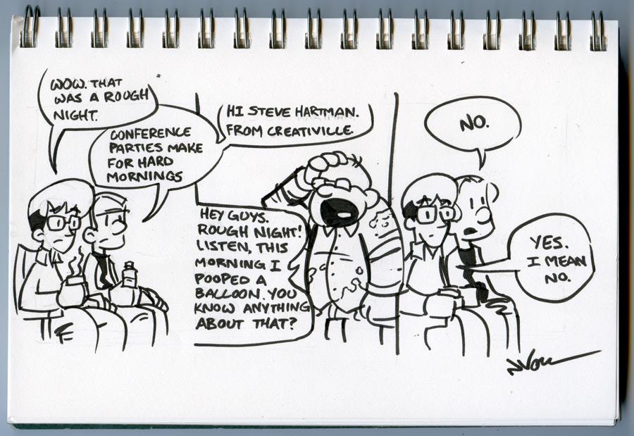 1PT.Rule Comic: Memphis Sketchbook 2