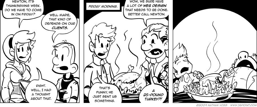 1PT.Rule Comic: Tryptophan-tastic!