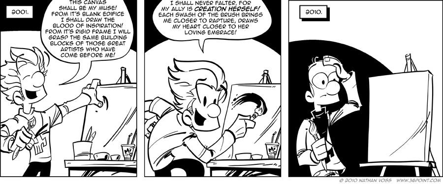 1PT.Rule Comic: Master Strokes