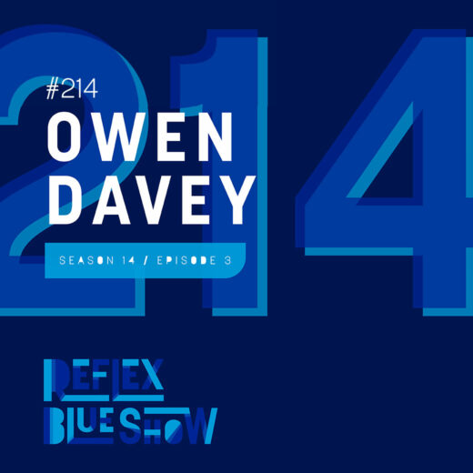 Owen Davey: The Reflex Blue Show #214